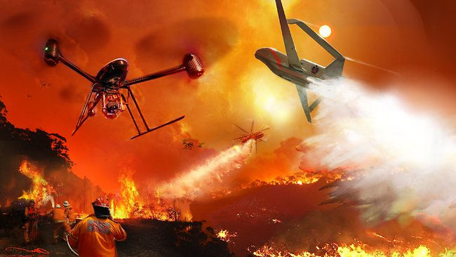 Building a drone to fight fires